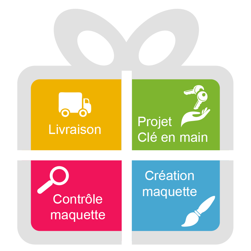 Carte De Visite En Plastique Recto Verso Cadeaux